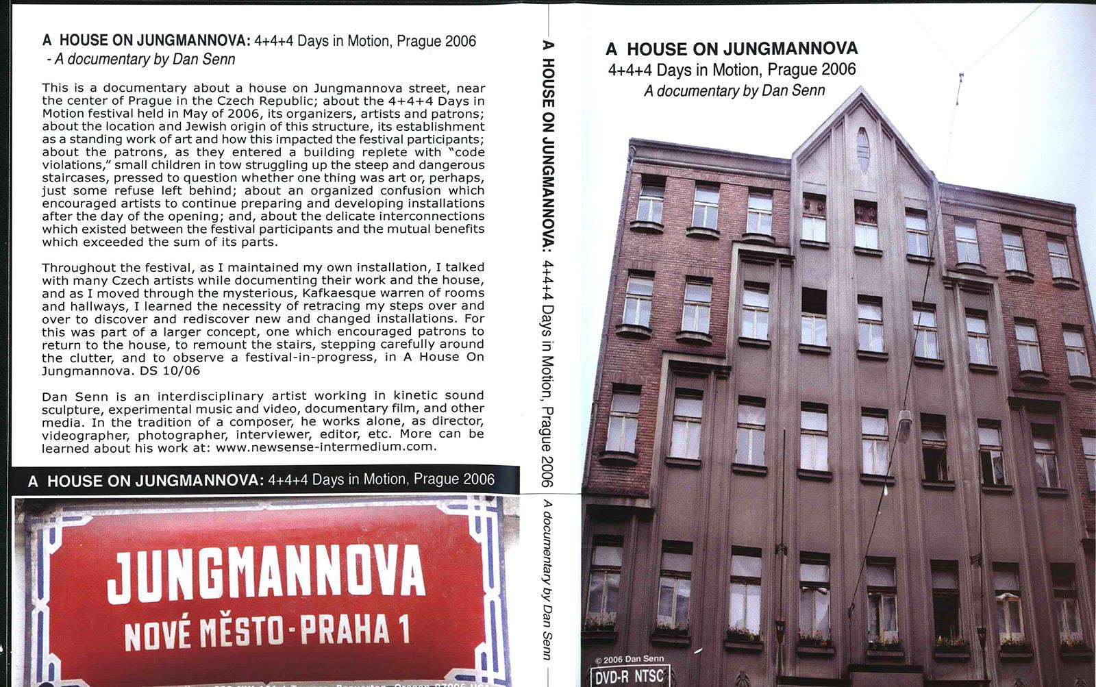 Jungmannova, Foto: archiv Čtyři dny