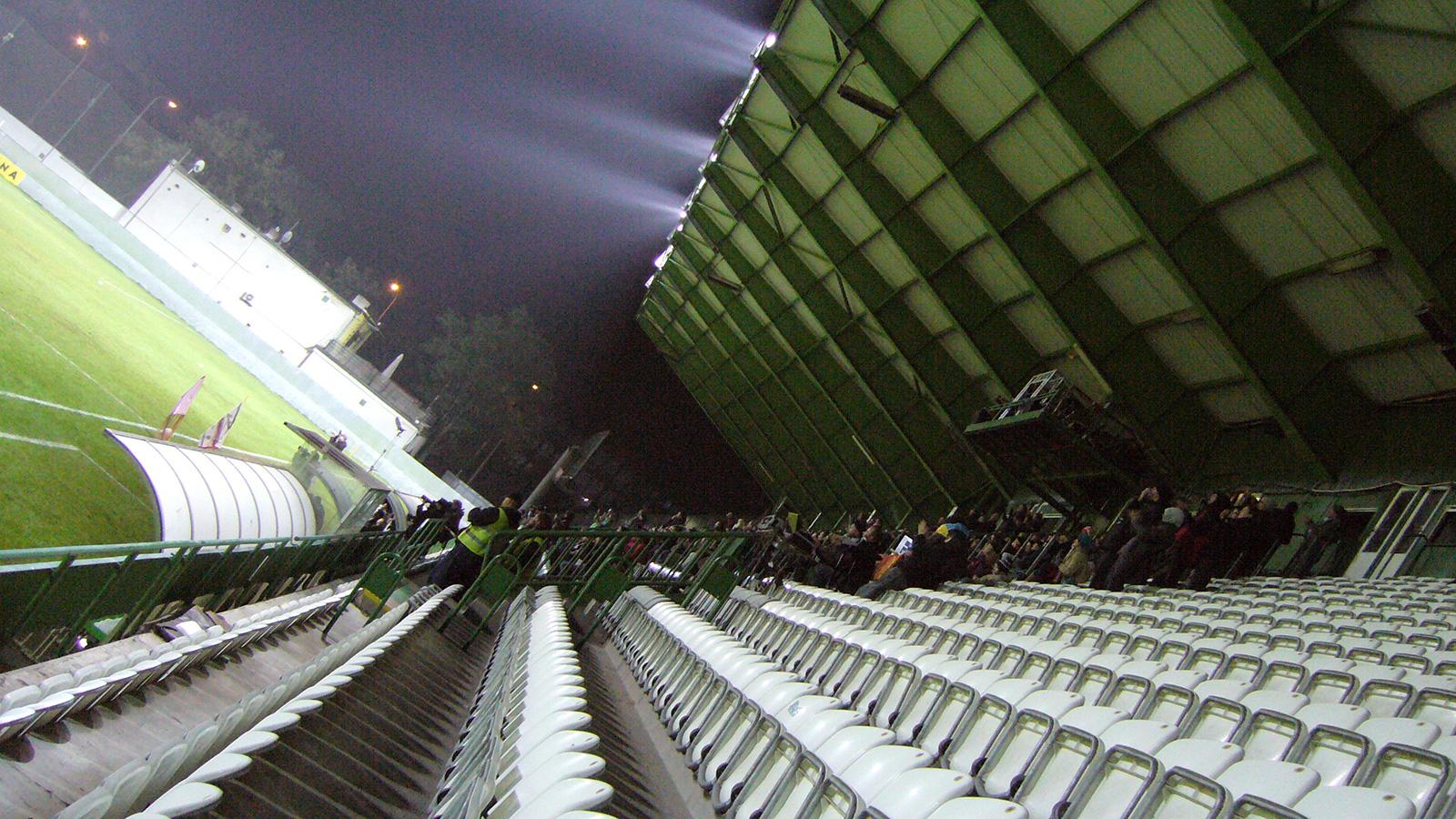 Stadion Bohemians, Foto: archiv Čtyři dny