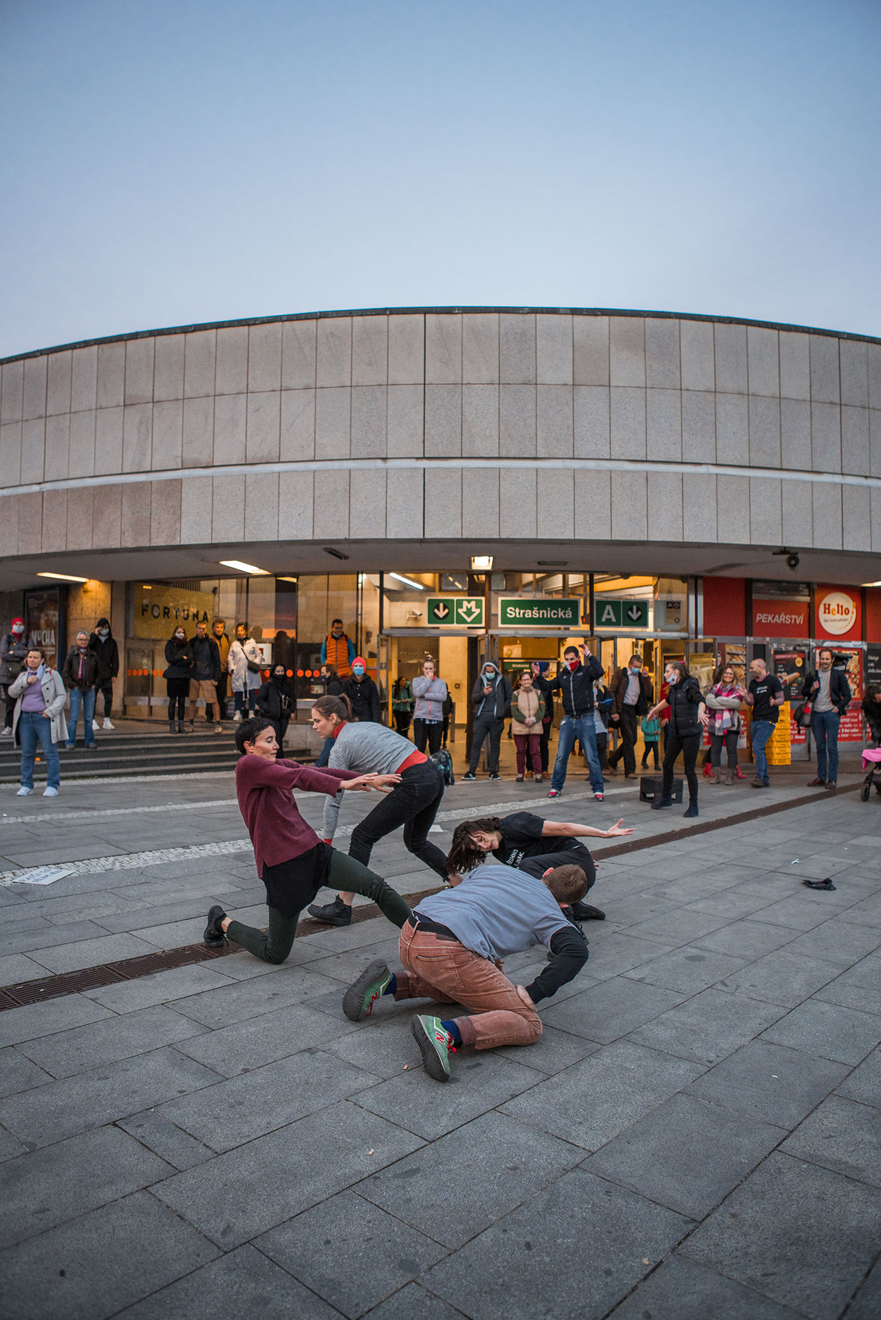 Manifest tance / Foto: Markéta M. Černá