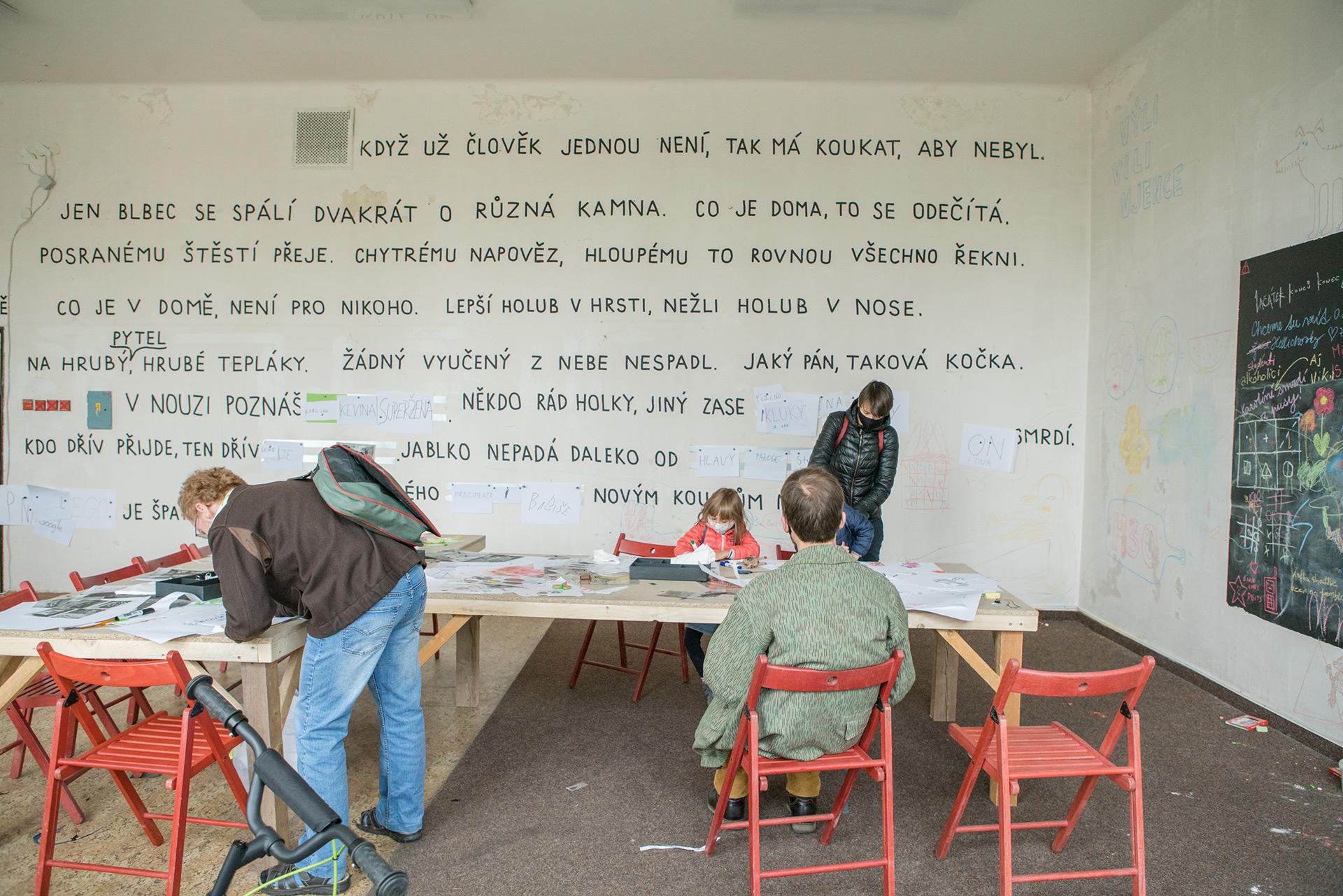 Máš umělecké střevo? / Foto: Markéta M. Černá