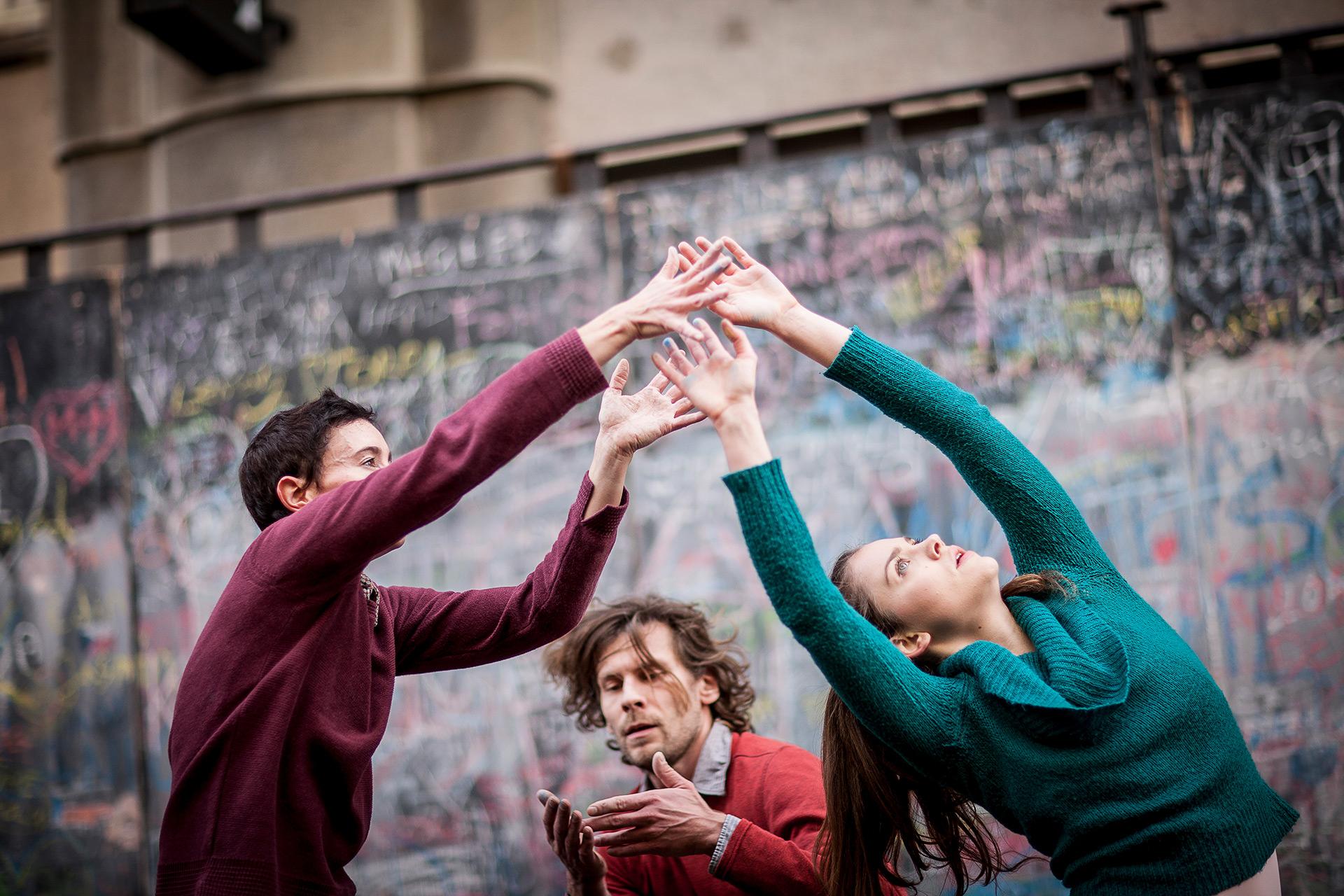 Manifest tance (Foto Vojtěch Brtnický)