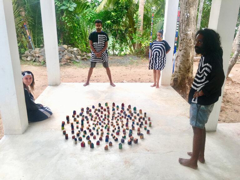 ›Rezidence k projektu v Sura Medura (Sri Lanka) v roce 2018