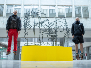 Sculpture projects for Motol Hospital
