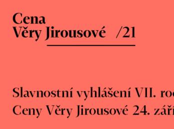 Cena Věry Jirousové 26.9.