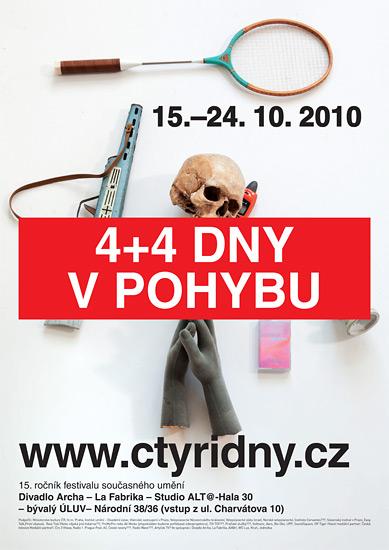 ›Plakát 4+4 dny v pohybu 2010